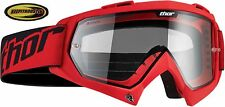 Thor Goggles Enemy Red Mx Atv Motocross Off Road