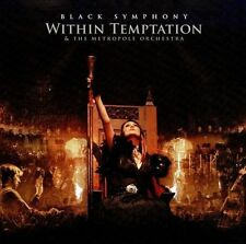 Black Symphony (2-Disc) by Metropole Orchestra / Within Temptation DVD & CD