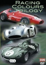 RACING COLOURS TRILOGY (3 DVD SET) CAR BRITISH GREEN ITALIAN RED & GERMAN SILVER