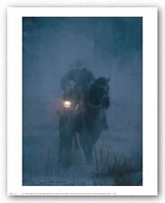 COWBOY HORSE ART PRINT - Hero of The Storm by DAVID STOECKLEIN 16x20 Poster
