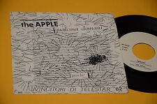 "THE APPLE 7"" QUALCOSA DOMANI 1°ST ORIG ITALY GARAGE 1982 EX+ TOP RARE !!!!!!!!!!"