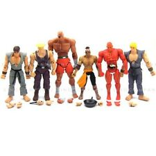 Lot 6pcs STREET FIGHTER SAGAT EL FUERTE KEN GUILE SETH RYU ACTION FIGURES FW210