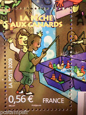 FRANCE 2009, timbre 4383, FETE FORAINE PECHE AUX CANARDS, neuf** MNH STAMP FAIR
