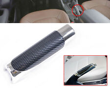 Universal Car SUV Accessory Hand Brake Carbon Fiber Style Protector Decor Cover