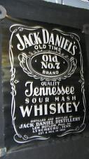 VINTAGE JACK DANIELS OLD NO 7  TENNESSEE SOUR MASH WHISKEY ADVERTISEMENT BAR