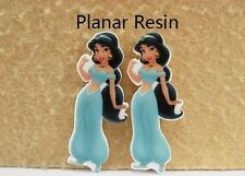 Princess Jasmine  Flat Back Resin-Cabochon-Plastic-Hair Bow Center