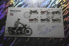 Sammy Miller MBE (Grand Prix Motorcycle) Signed 1st Day Cover