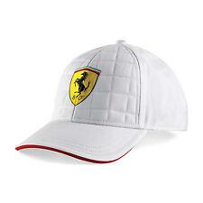 Scuderia Ferrari F1 Official Quilt Stitch Cap - White - Adults