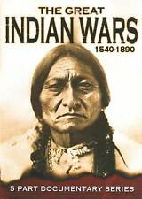 NEW The Great Indian Wars 1540-1890 (DVD, 2009, Full Screen) GS17