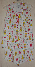 "NWOT WOMENS LOONEY TUNES ""Tweety Nesting Dolls"" KNIT PAJAMA SET  SIZE S (4/6)"