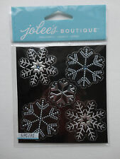 Snowflakes Bling Scrapbook Sticker