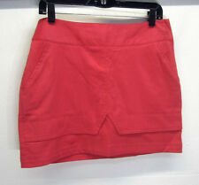 vtg Lija Women's Tennis Skort herringbone twill sherbet sz 6 made in Canada EUC!