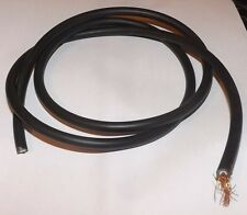 10 METERS OF COPPER CORED BLACK HT LEAD