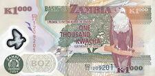 Sambia / Zambia 1.000 Kwacha 2004 Polymer Pick 44c