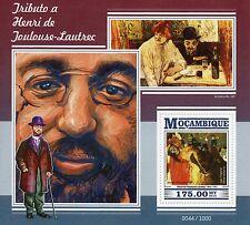 Mozambique 2015 MNH Henri de Toulouse-Lautrec 1v S/S Jane Avril Moulin Rouge