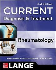 NEW : LANGE CURRENT: Current Diagnosis and Treatment-Rheumatology 3e *Intl ed *