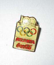 Pin's Jeux olympiques Atlanta 96 - sponsor coca cola (100 ans de JO 1896 - 1996)