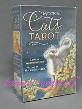 MYSTICAL CATS Tarot Card Deck & Book Set - by Featherstone - NEW Divination