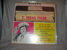 """T. Texas Tyler """"Original Country and Western Stars"""" DLP602 LP"""