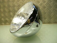 CAFE RACER SCHEINWERFER BRITISH BRAT STYLE OLD SCHOOL HEAD LIGHT LAMP XS 650 500