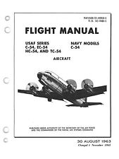 "PDF 30 C-54 ""SKYMASTER"" MANUALS BERLIN AIRLIFT DC-4 R-2000 AIRCRAFT - DVD-ROM"