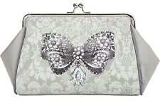 Mathilde M Kisslock Toiletry Bag Lecon D'elegance Small Handy Cosmetic Case Gift