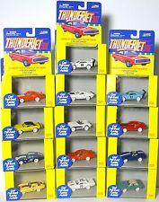 13pc 1999 JL T-Jet ThunderJet Dash AW Style Slot Car Body Set RARE WHITE SET !