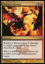 RAKDOS'S RETURN NM mtg Return to Ravnica Gold - Sorcery Mythic