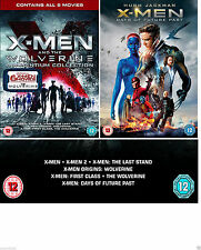 X MEN WOLVERINE COMPLETE All 7 Movie Film Collection DVD Set NEW SEALED X-MEN UK