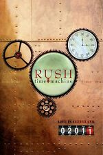 Rush: Time Machine - Live in Cleveland (2011, DVD NIEUW)