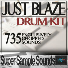 Just Blaze DRUM KIT IN VINILE Beats mpc60 SP1200 mv8800 MPC 2.500 5.000 1000 CAMPIONI