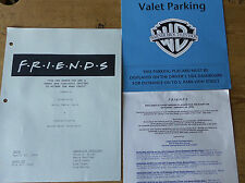 NBC Friends TV Show Cast & Crew Invite  2000 INVITATION WRAP PARTY