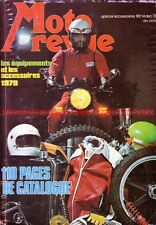 MOTO REVUE 2392 Equipements / Accessoires 1978 ; Dossier : L'éclairage Moto !