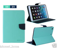 Genuine MERCURY Goospery Mint Green Leather Flip Case Cover For Apple iPad Air 2