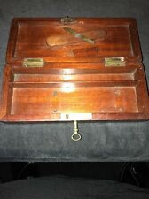 A Fine Quality Victorian Mahogany Scientific/Medical? Instrument Box