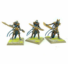 WARHAMMER FANTASY ARMY TOMB KINGS USHABTI X3 PAINTED AND BASED