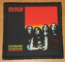 "KREATOR ""EXTREME AGGRESSION"" silk screen PATCH"