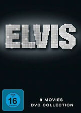 ELVIS PRESLEY Die Spielfilme ACAPULCO Blaues Hawaii GIRLS Seemann Ahoi 8 DVD Box