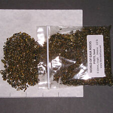 PYRITE SAND 0-10mm  Natural Ore 1/2 lb pkg xxmini-xmini gold rough