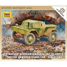 Zvezda 1/100 15mm Daimler Dingo Scout Car Flames of War