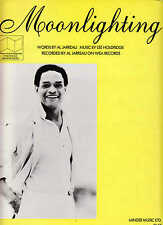 Moonlighting - Al Jarreau  - 1985 Sheet Music