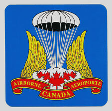 Canadian Airborne Decal - Canadian Airborne Regt Badge Design