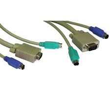 GP1294 KVM Cable, PS/2 x 2 and SVGA Male to Male , 3 Metres