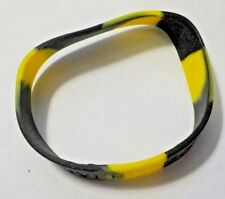 "Yellow & Black ""BEAT LIVER TUMORS"" Rubber Cause Bracelet"
