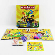 Cute Party Family Board Game Pocket Monster Pokemon MONOPOLY 2~4 Players Toy dea