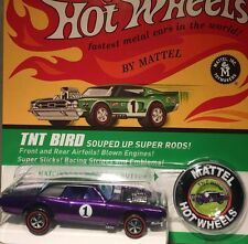 Hot Wheels RLC Spoilers TNT BIRD & Collector Button Ford Thunderbird #1415/5000