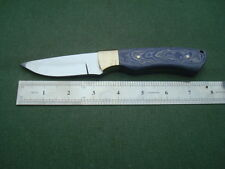 SG-265A Custom made 1080 high Carbon steel knife/MICARTA/HEAT TREATED,58HRC