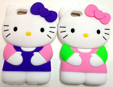2 X Hello Kitty iPhone 5 Case Cover Multicolor S-1 Great Gift **US SELLER**