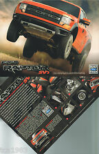 2009/2010 FORD F-150 / F150 RAPTOR PickUp TRUCK Brochure / Hero / Hard Card