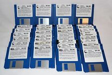"Vintage 3.5"" Floppy Disk Disc Computer Games - Lot of 33"